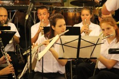 Cressona Band performs, Sheldon Shafer, Weatherwood, Weatherly, 7-27-2015 (59)