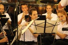Cressona Band performs, Sheldon Shafer, Weatherwood, Weatherly, 7-27-2015 (59)