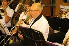 Cressona Band performs, Sheldon Shafer, Weatherwood, Weatherly, 7-27-2015 (6)