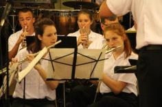 Cressona Band performs, Sheldon Shafer, Weatherwood, Weatherly, 7-27-2015 (60)