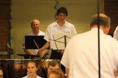 Cressona Band performs, Sheldon Shafer, Weatherwood, Weatherly, 7-27-2015 (62)