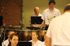 Cressona Band performs, Sheldon Shafer, Weatherwood, Weatherly, 7-27-2015 (63)