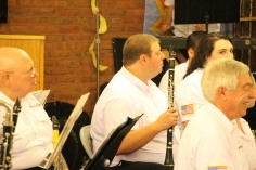Cressona Band performs, Sheldon Shafer, Weatherwood, Weatherly, 7-27-2015 (64)