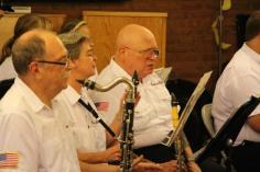 Cressona Band performs, Sheldon Shafer, Weatherwood, Weatherly, 7-27-2015 (65)