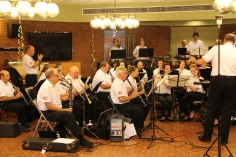 Cressona Band performs, Sheldon Shafer, Weatherwood, Weatherly, 7-27-2015 (70)