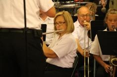 Cressona Band performs, Sheldon Shafer, Weatherwood, Weatherly, 7-27-2015 (71)