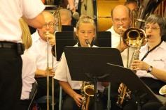 Cressona Band performs, Sheldon Shafer, Weatherwood, Weatherly, 7-27-2015 (73)