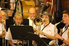 Cressona Band performs, Sheldon Shafer, Weatherwood, Weatherly, 7-27-2015 (74)
