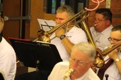 Cressona Band performs, Sheldon Shafer, Weatherwood, Weatherly, 7-27-2015 (8)