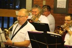 Cressona Band performs, Sheldon Shafer, Weatherwood, Weatherly, 7-27-2015 (81)