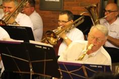 Cressona Band performs, Sheldon Shafer, Weatherwood, Weatherly, 7-27-2015 (82)