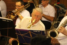 Cressona Band performs, Sheldon Shafer, Weatherwood, Weatherly, 7-27-2015 (83)