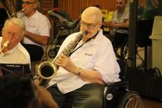 Cressona Band performs, Sheldon Shafer, Weatherwood, Weatherly, 7-27-2015 (86)
