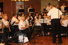 Cressona Band performs, Sheldon Shafer, Weatherwood, Weatherly, 7-27-2015 (88)
