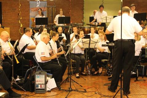 Cressona Band performs, Sheldon Shafer, Weatherwood, Weatherly, 7-27-2015 (90)