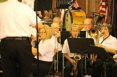 Cressona Band performs, Sheldon Shafer, Weatherwood, Weatherly, 7-27-2015 (95)