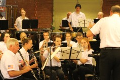 Cressona Band performs, Sheldon Shafer, Weatherwood, Weatherly, 7-27-2015 (96)