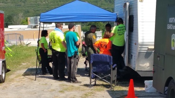 Day 3 of Search for Jesse Rex Farber, Sharp Mountain, Tamaqua, 8-15-2015 (15)