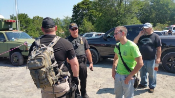 Day 3 of Search for Jesse Rex Farber, Sharp Mountain, Tamaqua, 8-15-2015 (31)