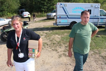 Day 3 of Search for Jesse Rex Farber, Sharp Mountain, Tamaqua, 8-15-2015 (61)