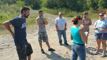 Day 4 of Search for Jesse Rex Farber, Sharp Mountain, Tamaqua, 8-16-2015 (10)