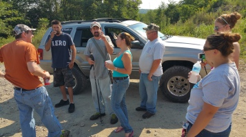 Day 4 of Search for Jesse Rex Farber, Sharp Mountain, Tamaqua, 8-16-2015 (3)