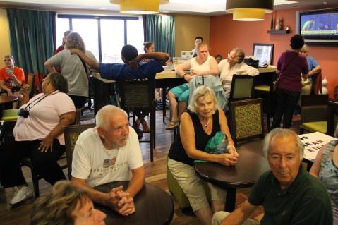Dream Ride Stop, benefits Special Olympics, Hampton Inn, Hazleton, 8-20-2015 (1)