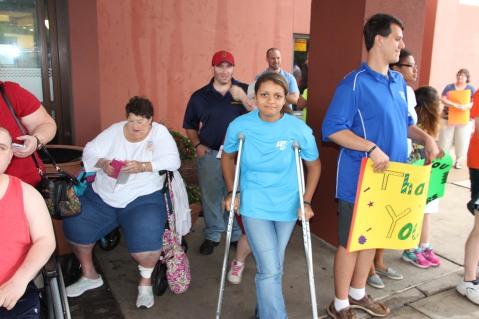 Dream Ride Stop, benefits Special Olympics, Hampton Inn, Hazleton, 8-20-2015 (10)