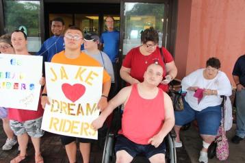 Dream Ride Stop, benefits Special Olympics, Hampton Inn, Hazleton, 8-20-2015 (11)