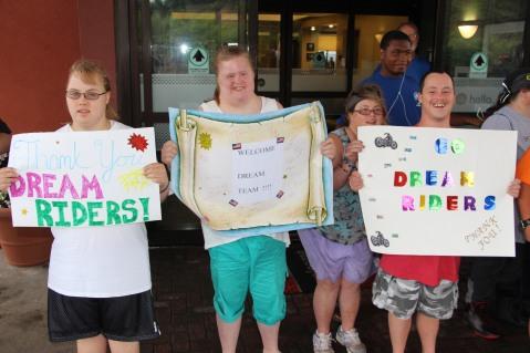 Dream Ride Stop, benefits Special Olympics, Hampton Inn, Hazleton, 8-20-2015 (13)
