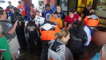 Dream Ride Stop, benefits Special Olympics, Hampton Inn, Hazleton, 8-20-2015 (132)