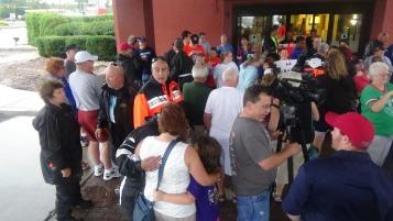 Dream Ride Stop, benefits Special Olympics, Hampton Inn, Hazleton, 8-20-2015 (136)