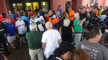 Dream Ride Stop, benefits Special Olympics, Hampton Inn, Hazleton, 8-20-2015 (137)