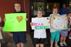 Dream Ride Stop, benefits Special Olympics, Hampton Inn, Hazleton, 8-20-2015 (14)