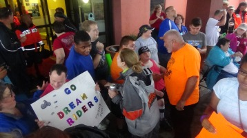 Dream Ride Stop, benefits Special Olympics, Hampton Inn, Hazleton, 8-20-2015 (143)