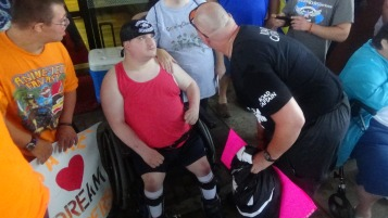 Dream Ride Stop, benefits Special Olympics, Hampton Inn, Hazleton, 8-20-2015 (146)