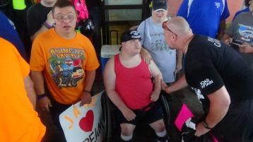 Dream Ride Stop, benefits Special Olympics, Hampton Inn, Hazleton, 8-20-2015 (147)