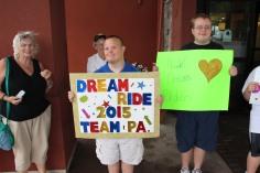 Dream Ride Stop, benefits Special Olympics, Hampton Inn, Hazleton, 8-20-2015 (15)