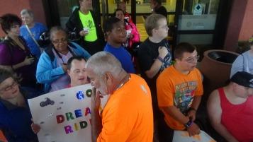 Dream Ride Stop, benefits Special Olympics, Hampton Inn, Hazleton, 8-20-2015 (150)