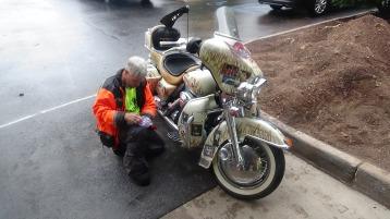 Dream Ride Stop, benefits Special Olympics, Hampton Inn, Hazleton, 8-20-2015 (163)