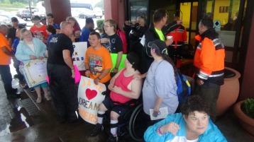 Dream Ride Stop, benefits Special Olympics, Hampton Inn, Hazleton, 8-20-2015 (169)
