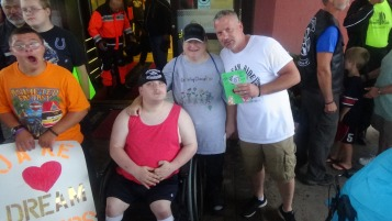 Dream Ride Stop, benefits Special Olympics, Hampton Inn, Hazleton, 8-20-2015 (178)