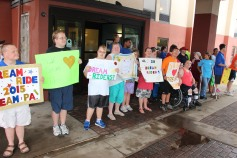 Dream Ride Stop, benefits Special Olympics, Hampton Inn, Hazleton, 8-20-2015 (18)