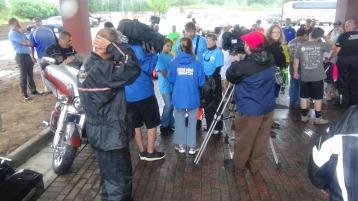 Dream Ride Stop, benefits Special Olympics, Hampton Inn, Hazleton, 8-20-2015 (183)