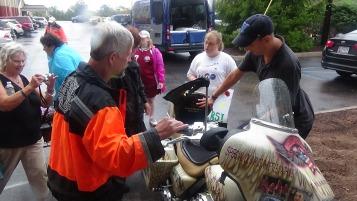 Dream Ride Stop, benefits Special Olympics, Hampton Inn, Hazleton, 8-20-2015 (194)