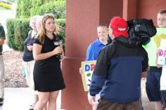 Dream Ride Stop, benefits Special Olympics, Hampton Inn, Hazleton, 8-20-2015 (21)