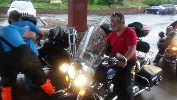 Dream Ride Stop, benefits Special Olympics, Hampton Inn, Hazleton, 8-20-2015 (210)