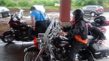 Dream Ride Stop, benefits Special Olympics, Hampton Inn, Hazleton, 8-20-2015 (212)