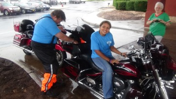 Dream Ride Stop, benefits Special Olympics, Hampton Inn, Hazleton, 8-20-2015 (215)