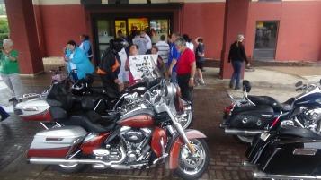 Dream Ride Stop, benefits Special Olympics, Hampton Inn, Hazleton, 8-20-2015 (220)